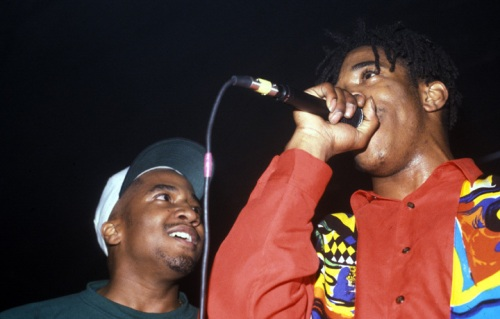 Q-Tip and Busta Rhymes