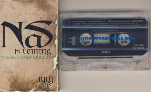 Nas is coming Source sampler 1996