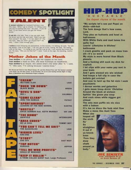 December 1993 fat tape