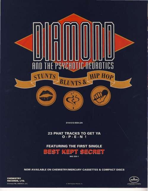 diamond d ad