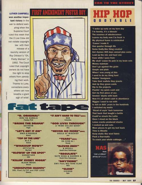 May 1994 fat tape