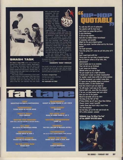 fat tape February 1997