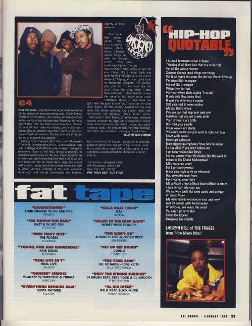 Source February 1996 #77 fat tape
